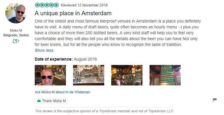 A Unique place in Amsterdam