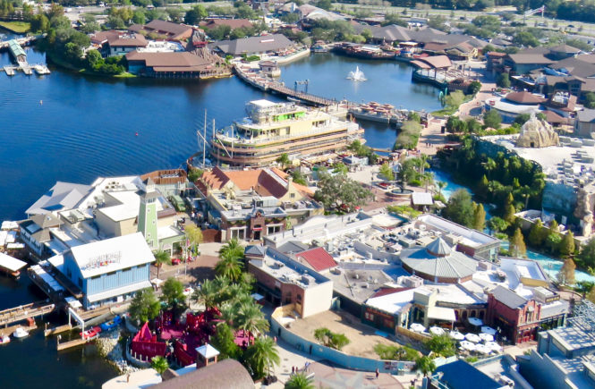 Disney Springs Aerial Photo